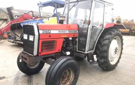 Massey Ferguson 390/12 Ag Tractor for sale on Plantmaster UK