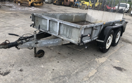 Ivor Williams 2 axle 10×6 Trailor for sale on Plantmaster UK