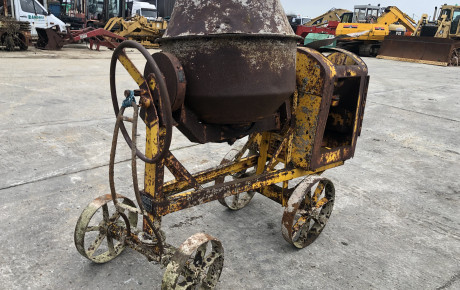 Benford towable cement mixer for sale on Plantmaster UK