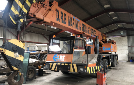 Coles 45/50 mobile 8×4 ,50 ton truck crane for sale on Plantmaster UK