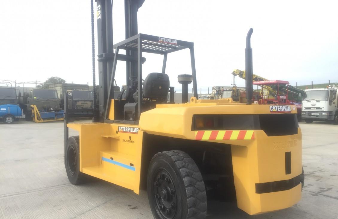 2008 CAT DP 150(15 ton) diesel Forklift for sale  Plantmaster UK