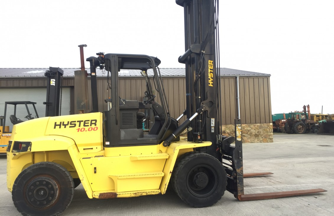 2008 Hyster H10.00XM 10 ton LPG Forklift for sale| Plantmaster UK