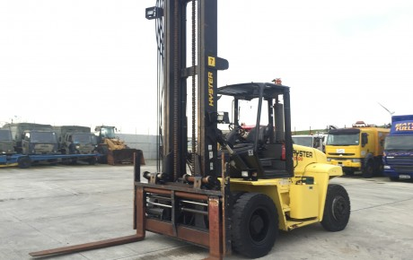 2008 Hyster H10.00XM 10 ton LPG Forklift | uk plant traders