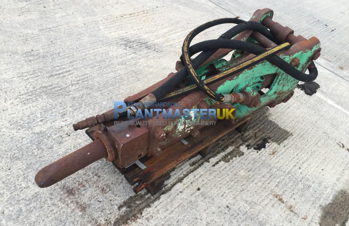 Montebert Hyd breaker to suit backhoe loader for sale| Plantmaster UK