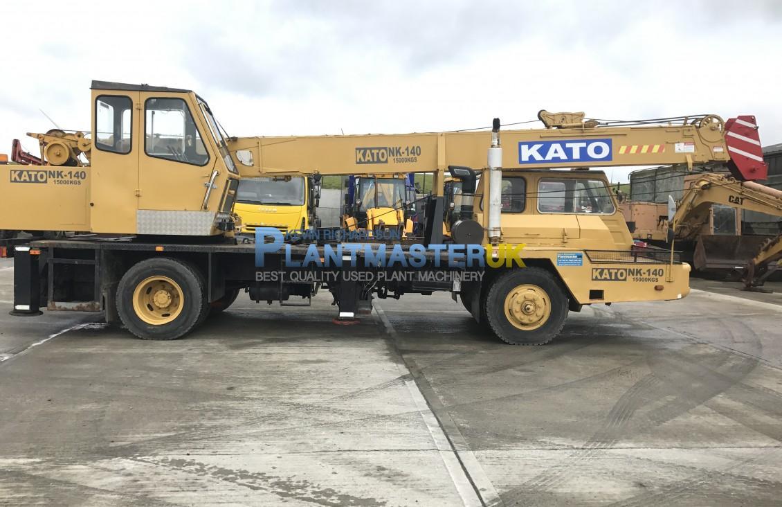 1985 Kato NK 140 15 ton 4×2 Truck crane | Plantmaster UK