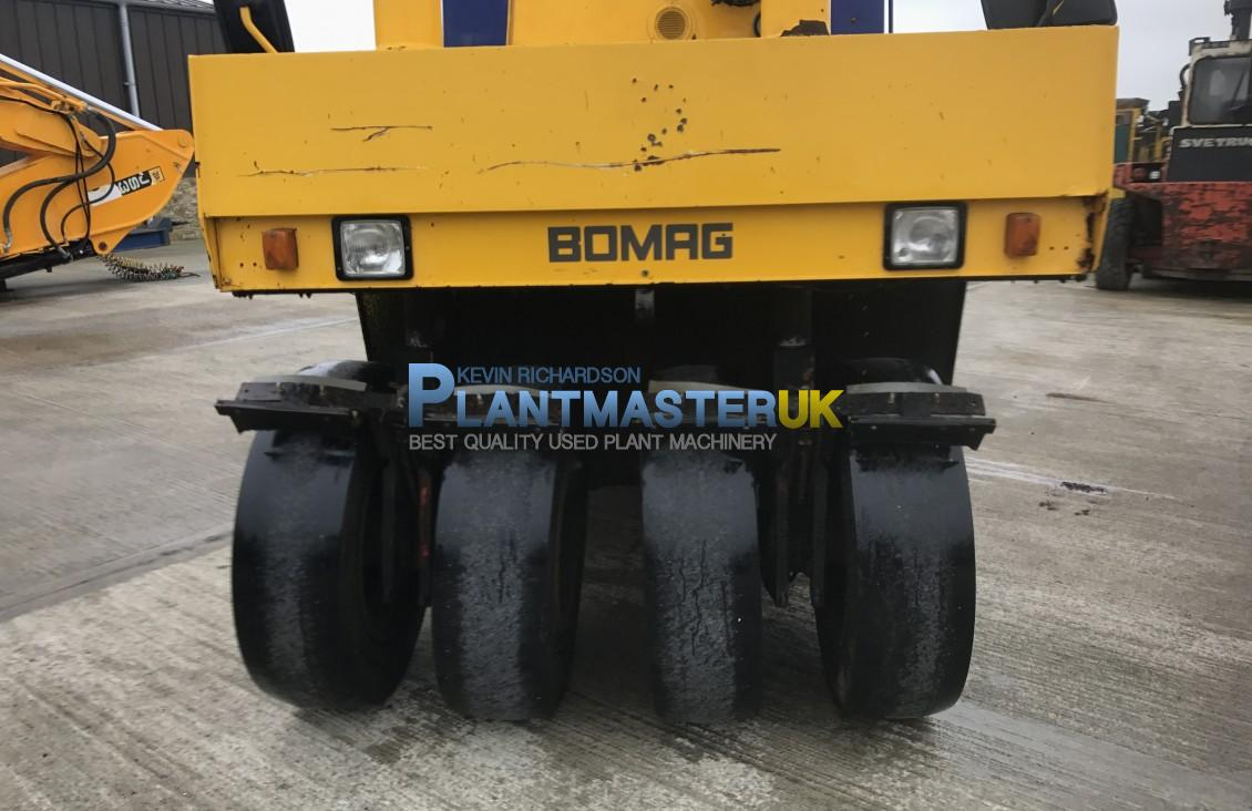 Bomag BW16R Tyre roller | Plantmaster UK